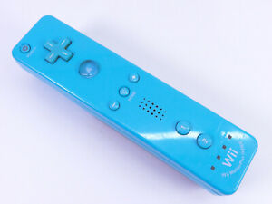 Official Nintendo Wii Motion Plus Controller ~ Blue ~ Wireless (RVL-036) Tested