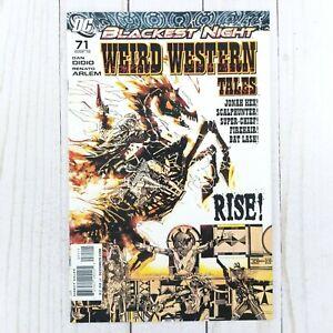 Weird Western Tales #71 DC Comics 2010, Jonah Hex, Scalphunter, Super Chief