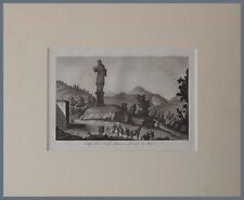 Colosso San Carlo Borromeo Arona Viaggi in Italia Gandini De Micheli 1830