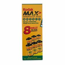 New Sealed 2004 Kodak Max Versatility Plus Film 4 Rolls 35mm