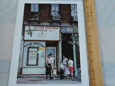 1965 Storefront Church Jersey City NJ NYC Puerto Rican Latino NYC Color Photo