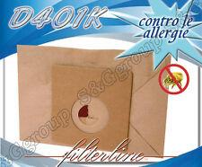 D401K 8 sacchetti filtro carta x Diesse 85 – Terraclean Diesse 85 PAB001
