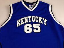Kentucky Wildcats Basketball Jersey VTG 90s Mens XL Blue Mesh Sleeveless Sewn UK