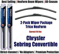 2pk Super-Premium NeoForm Wipers fit 1996 Chrysler Sebring - 16210x2