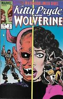Kitty Pryde And Wolverine Comic 2 Copper Age First Print Limited Series Marvel