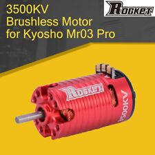 Rocket MINI 3500KV Brushless Motor for Kyosho Mr03 Pro DRZ 1/24 1/28 1/32 RC Car