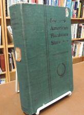 American Hardware Store Manual Methods Arranging Display Hardcover R.R. Williams