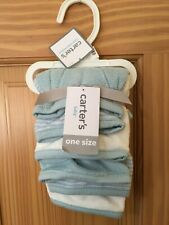 New Carter's Baby Boys Washcloth Set Clue 6 pack one size