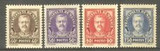 "MONACO STAMP TIMBRE N° 115/18 "" PRINCE LOUIS II, 4 VALEURS 1933 "" NEUFS xx LUXE"