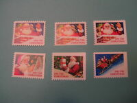 United States Scott  2579 - 2585 Christmas Santa 1991