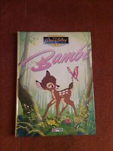 """☆1 Buch """"Bambi"""" 1986☆von Walt Disney☆"""