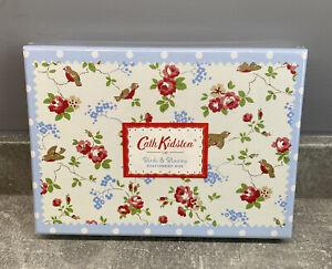 Cath Kidston Birds & Blooms Stationery Box - 30 Sheets & Envelopes