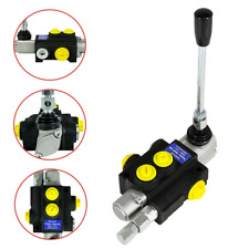 1 Spool Hydraulic Directional Control Valve 13gpm 3600psi Small Tractors 50lmin