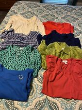 Lot of 8 Ladies Blouses Size Petite Small