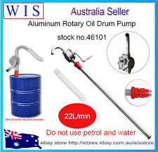 44 Gallon Aluminium Hand Rotary Oil Pump Drum Pump,Commercial Self Dispenser