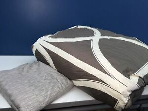 Hotel Collection Queen Goose Down Duvet Blanket Comforter Pima Cotton Bed Sheet