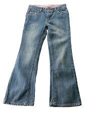 Levi's Girls Stonewashed Stretch Flare Jean 7 Slim Blue 100 Cotton