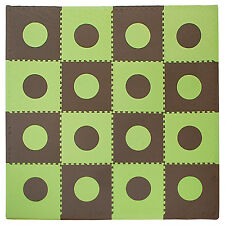 Baby Foam Floor Play Mat Puzzle 16 Tiles Kids Toddler Activity Gym Playmat Toy