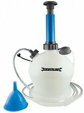 Silverline 104616 Oil and Fluid Extractor Pump, 4 L