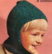 Cg26 - Knitting Pattern - Kids DK Balaclava Hat - Children's