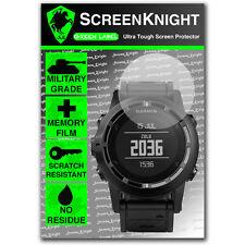 ScreenKnight Garmin Tactix SCREEN PROTECTOR invisible military Grade shield