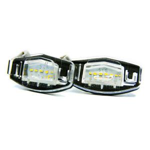 2 X LED Éclairage De Plaque D'Immatriculation Honda Civic MK7 MK8 Legend Accord