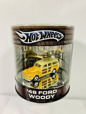 Hot Wheels Oil Can Wagon Wheels Series '48 Ford Woody Yellow