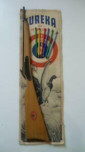 Jouet ancien Carabine tir de précision EUREKA [ 65cm ]