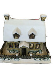 Currier & Ives Lighted House - Winter Evening - 2000 - Museum City Of New York