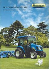 Farm Tractor Brochure - New Holland - Boomer 3040 3045 3050 c2009 FRENCH (F4722)