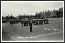 c.1960 March Past Royal Marines Depot Deal Kent Postcard H806