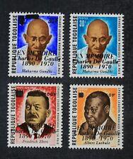 CKStamps: Togo Stamps Collection Scott#764-766 C143 Mint NH OG