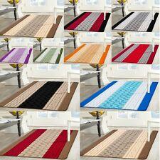 New Rug Carpet Runner Gel Back Non Shed Yarn anti Allergic Square Multi Colour