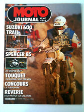 >N°689 MOTO JOURNAL  Suzuki 600 Trail/Spencer 85/Touquet