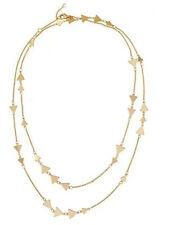 Women Alexia Gold Triangle Stella  Wear It Multiple Ways Chain Dot Long Necklace