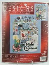 Twas The Night Before Christmas Cross Stitch Kit Designs For The Needle NEW