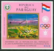 Paraguay Olympische Spiele Olympic Games 1972 MUESTRA Stadium block
