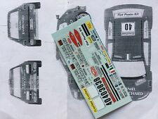1/43 DECAL RACING 43 FIAT PUNTO N° 38 ET N° 40 RALLY MONTE CARLO 2001 MONTECARLO