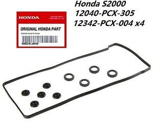 Honda S2000 CYLINDER HEAD COVER GASKET KIT Genuine OEM NEW AP1 AP2 2000-2009 S2K