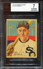 1934 Diamond Stars Lew Fonseca #7 - BECKETT 7 / NM