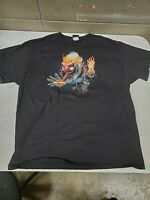 Mens XL Harley Davidson T Shirt Clown Jack in the Box Indy West Plainfield a3210