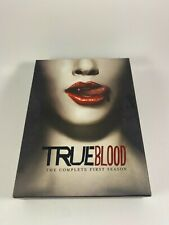 True Blood - The Complete First Season (DVD, 2009, 5-Disc Set) Free Shipping