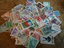 Collection lot 185 different stamps of Chile