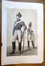 Lithographie, Armée de ligne: gendarmerie, Armand-Dumaresq, Lemercier, XIX