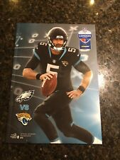 Philadelphia Eagles V Jacksonville Jaguars Nfl London 2018 programme
