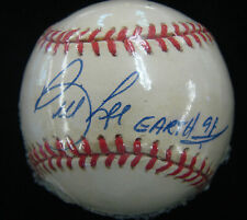 **SIGNED OFFICIAL LEAGUE BASEBALL by BILL LEE**