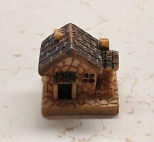 New listing Resin Fairy Garden Miniature Teeny Tiny Round Pond w/ Water Lily 2.5cm Across