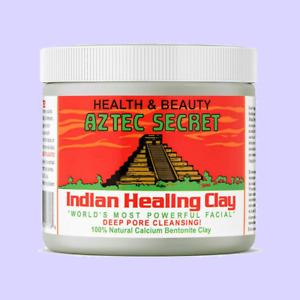 Aztec Secret 100% Indian Healing Clay Bentonite Clay 1LB JAR Sealed Factory Jar