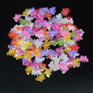 200PCS 15*17mm AB Love liness Embossed Shinny Butterfly Appliques/Crafts DIY