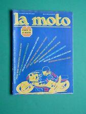 LA MOTO Aprile 1978 Laverda 125 Puch MC 250 Yamaha SR 500 SAchs K125 Montesa 348